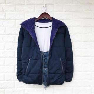 Uniqlo Navy Blue Jacket
