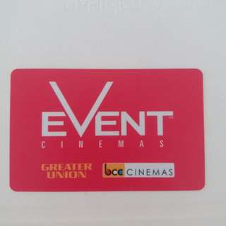 20% off Event Cinema gift card