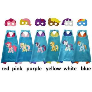 (Preorder) My little pony cape set