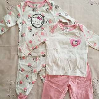 Hello Kitty Baby Sleepwear