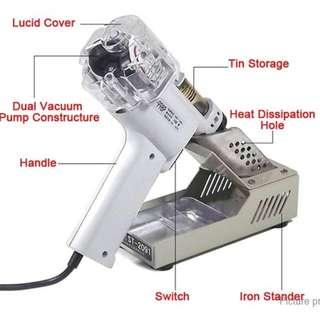 Electric suction gun 1 gun nozzle base filter