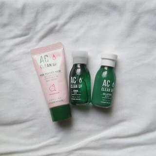 Etude House AC Clean Up Kit (Travel Size)