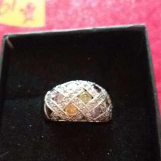 水晶石戒指