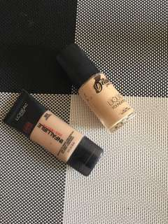 Take All Loreal infalliable pro matte/ Detail Make over liquid foundation!