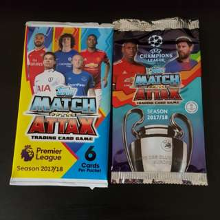 Topps Match Attax Cards