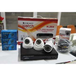 CCTV Package 702P HD with 1TR Storage (2 D032W and 1 B029W)