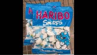 Haribo Smurfs Marshmallows from turkey