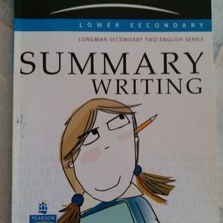 Longman Summary writing for sec 2