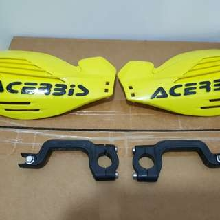 Acerbis hand guard use 1 time still new