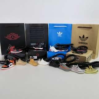 Adidas NMD, Yeezy / Nike Air Jordan Sneaker Keychains