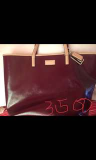 Authentic Coach Leather Tote Bag