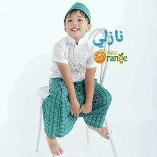 instant sarong boy's set