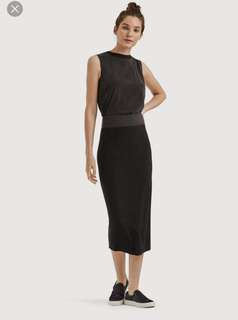 Kit & Ace Cashmere Long Pencil Skirt Size 8