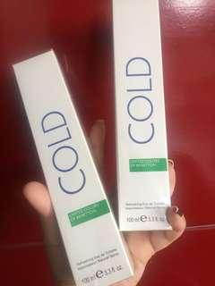 Authentic Benetton COLD