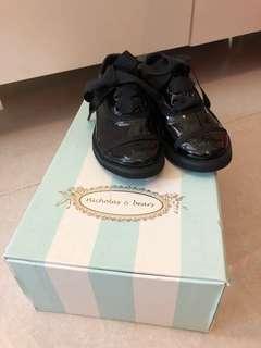 全新 Nicholas & bears 黑鞋