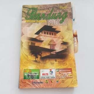 Bandung pocket yellow pages