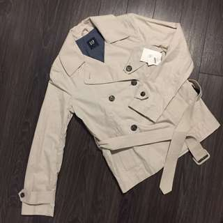 BNWT Gap Double Breast Light Jacket Size M