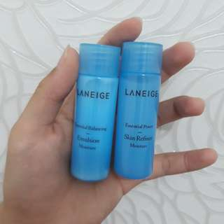 Laneige skin refiner and emulsion 25ml