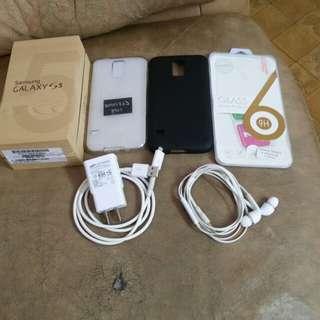 samsung s5 32gb 4G all original accs