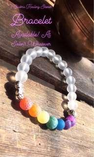 7 Chakra Healing Stones Bracelet ~Unisex