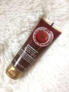 The Body Shop Cranberry Scrub