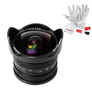 7artisans 7.5mm f/2.8 Fisheye Lens