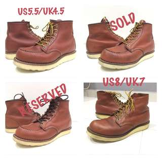 RED WING 8875 / 8166