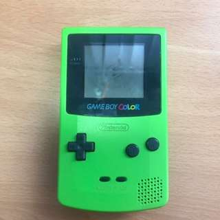 Game boy Color 青蘋果綠