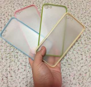 •BrandNew• Iphone 7 Candy Color Clear Case