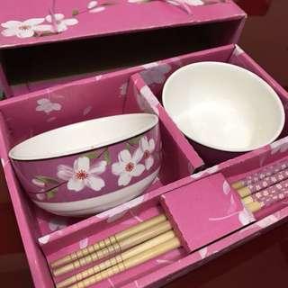 Bowl and Chopsticks Set