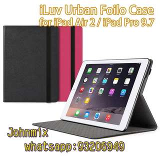 iLuv Urban Folio Case for iPad Air 2 or iPad Pro 9.7
