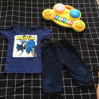 EUC Shirt and Jeans