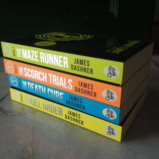 The Maze Runners Book Series + Prequel