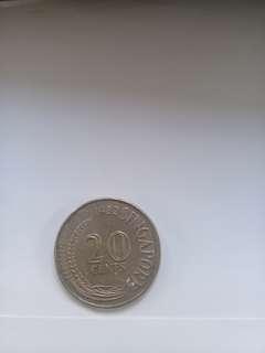 1982 singapore cent