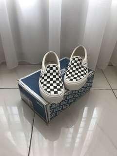 VANS OG CLASSIC SLIP ON (black/white checkerboard)