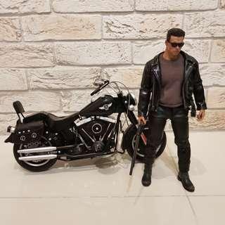 1/6 Scale Harley Davidson Fatboy Motorcycle Bike