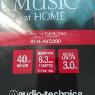 Audio technica ATH AVC200