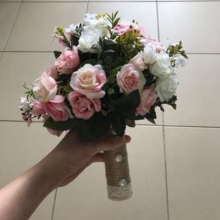 Fake Bridal Bouquet