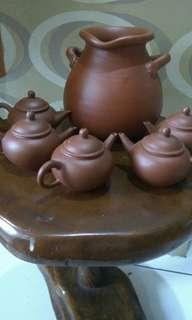 Set cangkir teh