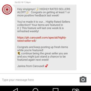 THANKS CAROUSELL - 4th time