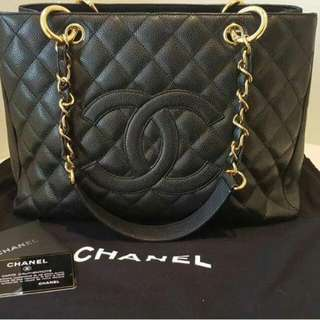 Chanel GST With Gold Hardware