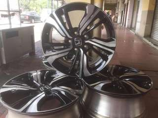 "Sports rim 17"" original civic"