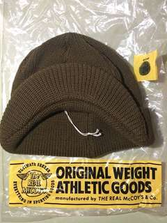 The Real Mccoy's Military Knit Cap/ Beanie