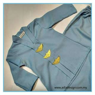 Baju Kebarung Kanak Kanak