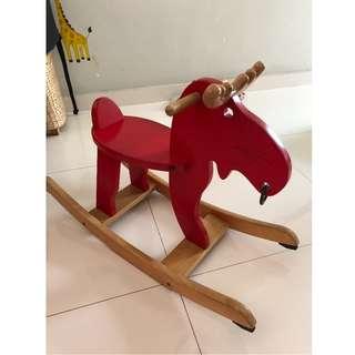 Ikea EKORRE Rider Horse