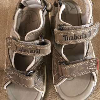 New - Timberland Sandals original (4-6yrs old)