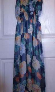 Maxi dress - flowers