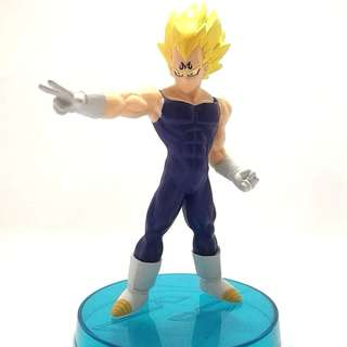 Real Work Bandai Majin Vegeta Super Saiyan Dragon Ball Z Action Figure