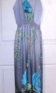 Maxi dress - gray