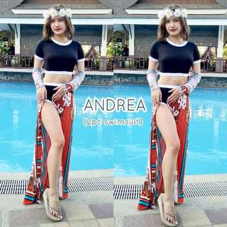 Andrea two piece swimsuit